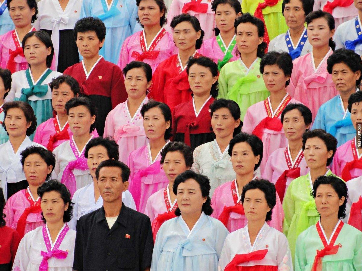 如果北韓的首都平壤是一個美國城市,這將會是美國人口第 4 多的城市。