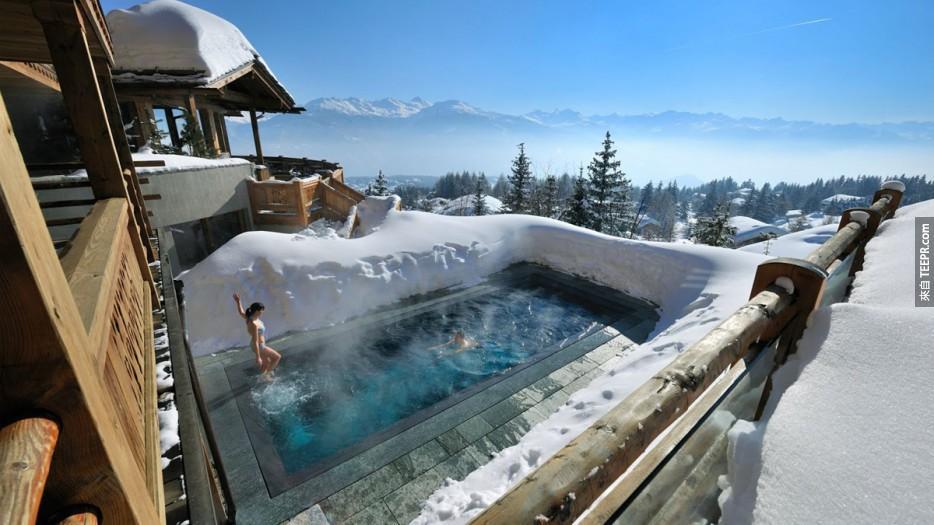 瑞士克萊恩蒙塔納飯店