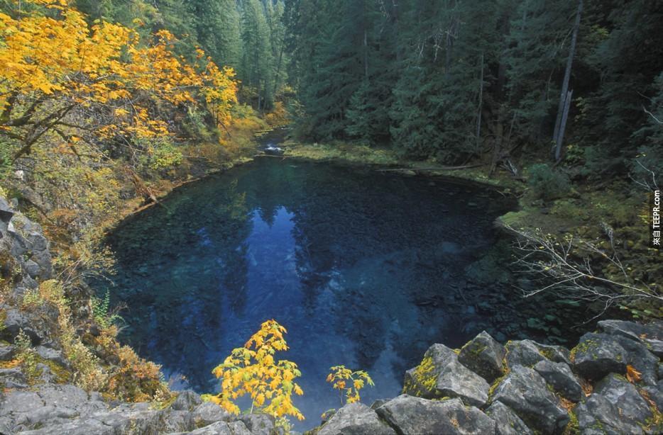美國奧勒岡藍池