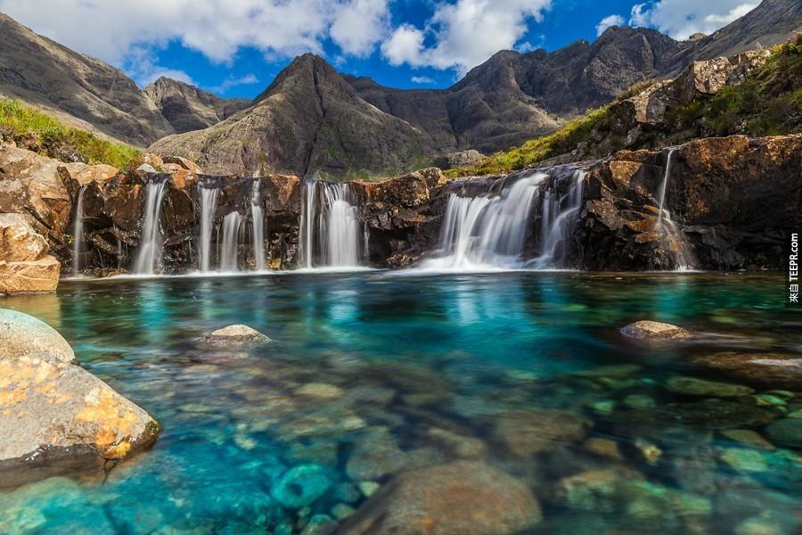 蘇格蘭斯凱島仙女池