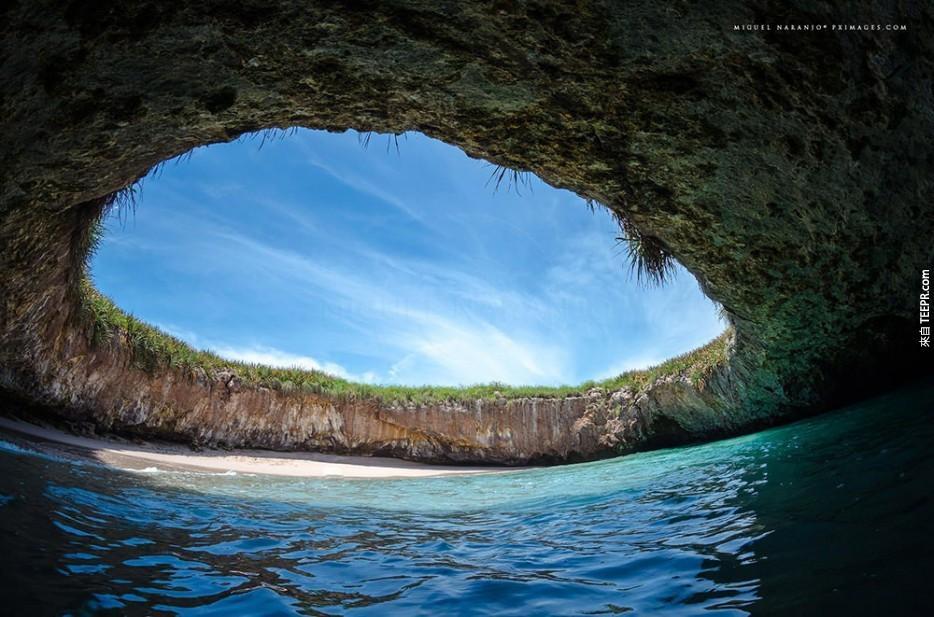 墨西哥 隱形海灘