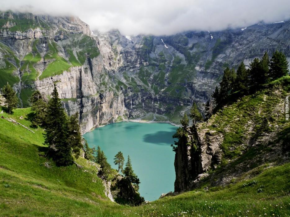 瑞士厄希嫩湖