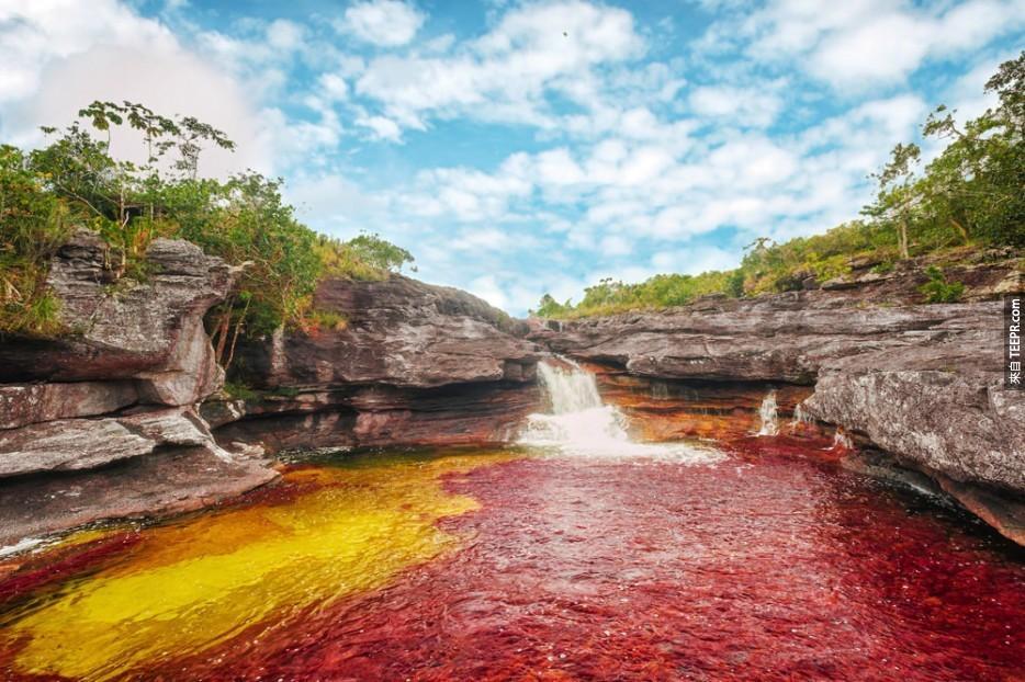 哥倫比亞彩虹河
