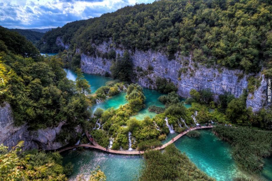 克羅埃西亞普利特維采湖