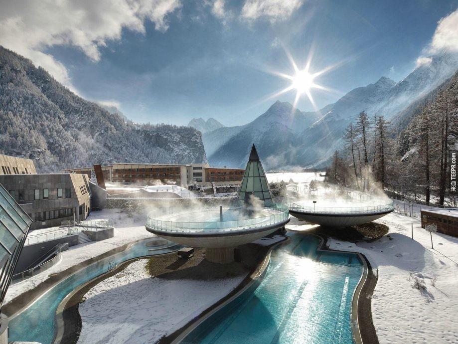 奧地利Aqua Dome