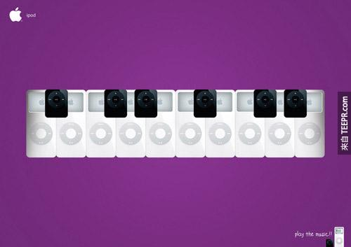 Apple iPod:弹奏/玩你的音乐!