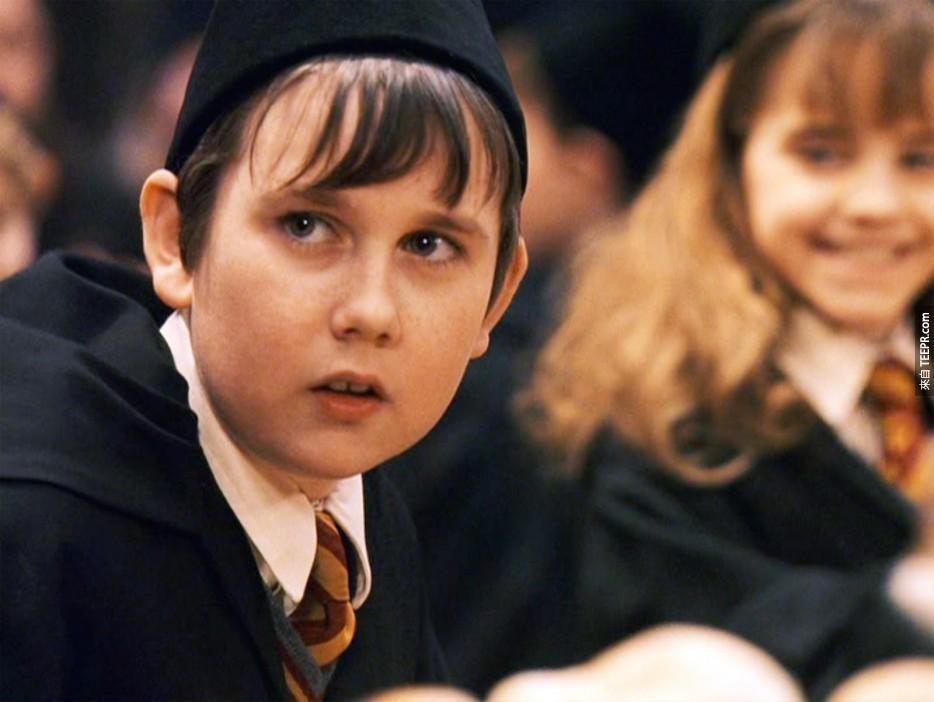 馬修·路易斯(Matthew Lewis):哈利波特(Harry Potter)