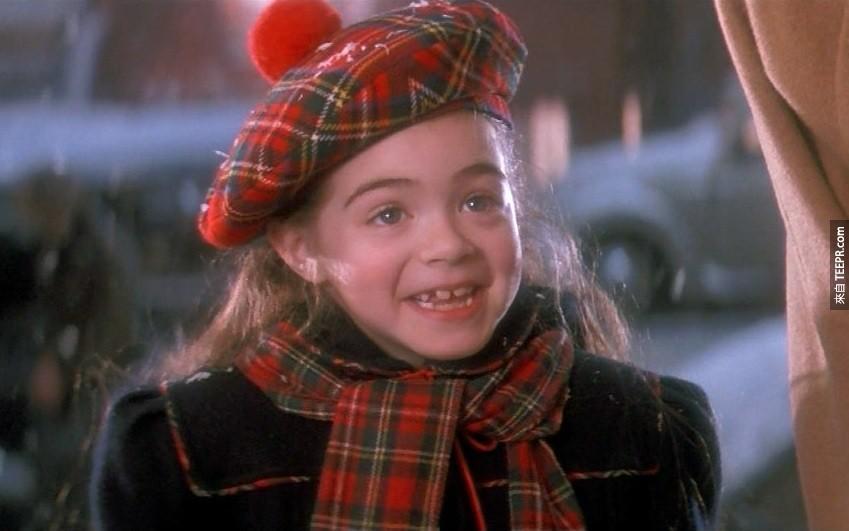 Amber Scott:演過《虎克船長》(Hook)。
