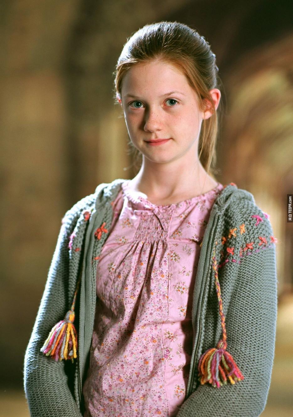 邦妮·萊特(Bonnie Wright):演過《哈利波特》(Harry Potter)。