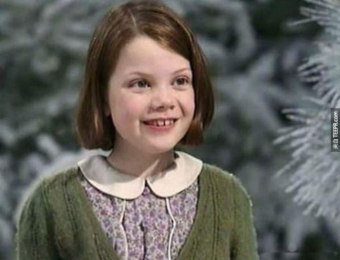 喬基·亨莉(Georgie Henley):演過納尼亞傳奇(The Chronicles of Narnia)