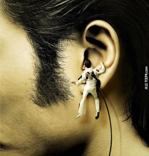 三星(Samsung) MP3 随身听(猫王真的就在你耳朵啊!)