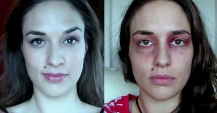 這個美女在她人生中最糟的一年,每天自拍一張。看到最後一張時我的眼淚流出來了...