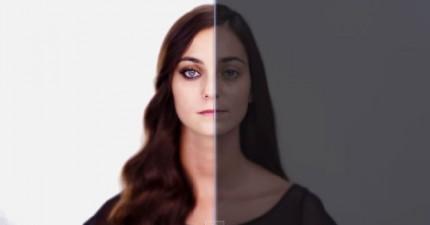 沒有加過特效的明星到底長得比我們好看多少?這名女歌手想要讓我們看到真相。