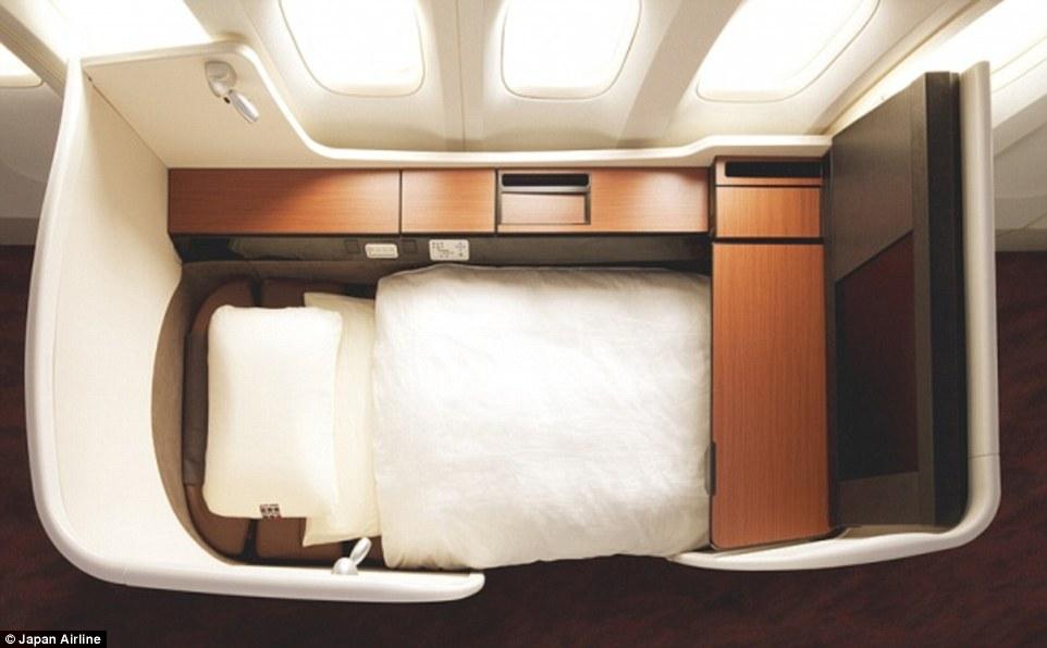 全球前24名最極盡奢華的頭等艙排名出來了!原來飛機上還有這麼誇張的設施。