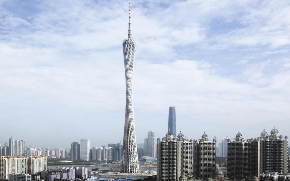 中國廣州塔(Canton Tower)