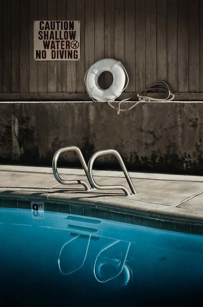 """""""No Diving."""""""