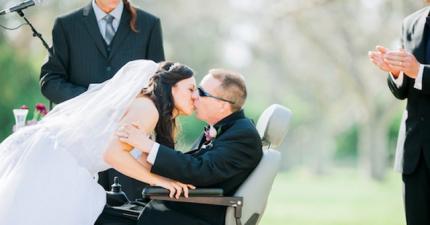 ALS病患的婚禮