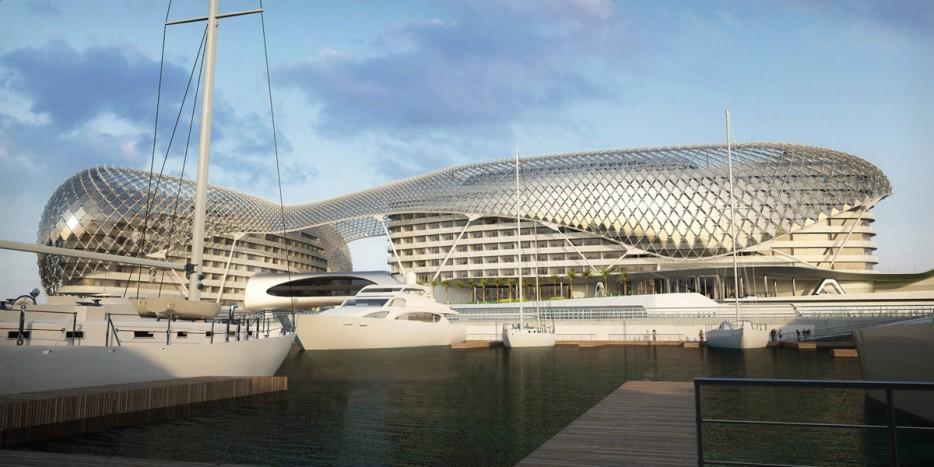 阿布紮比(Abu Dhabi)亞斯總督酒店(Yas Hotel)