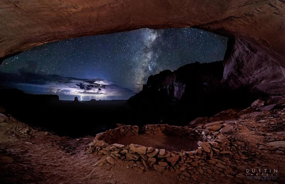 美國猶他州False Kiva峽谷(False Kiva, Utah, USA)
