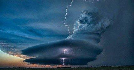 35張大自然怒吼的稀有照片,看起來簡直就像是神蹟!