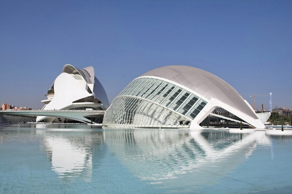 西班牙藝術科學城(City of Arts and Sciences)