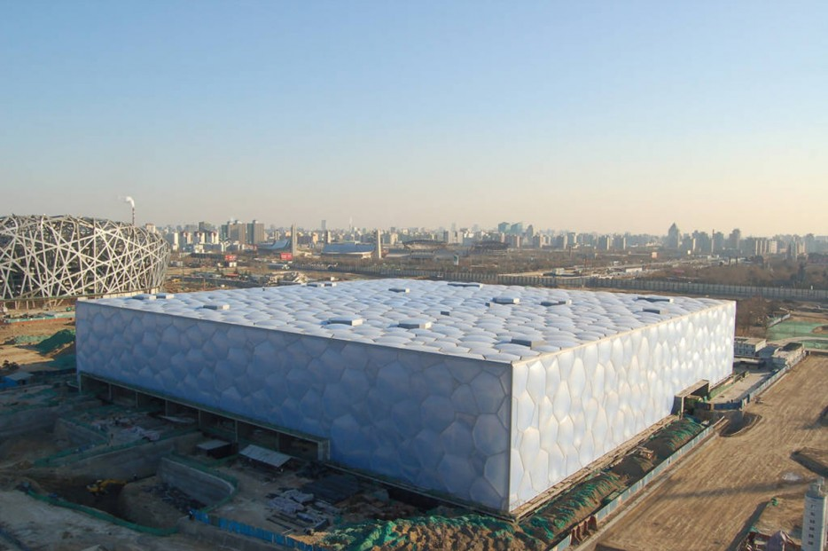 中國北京水立方(Beijing National Aquatics Center)