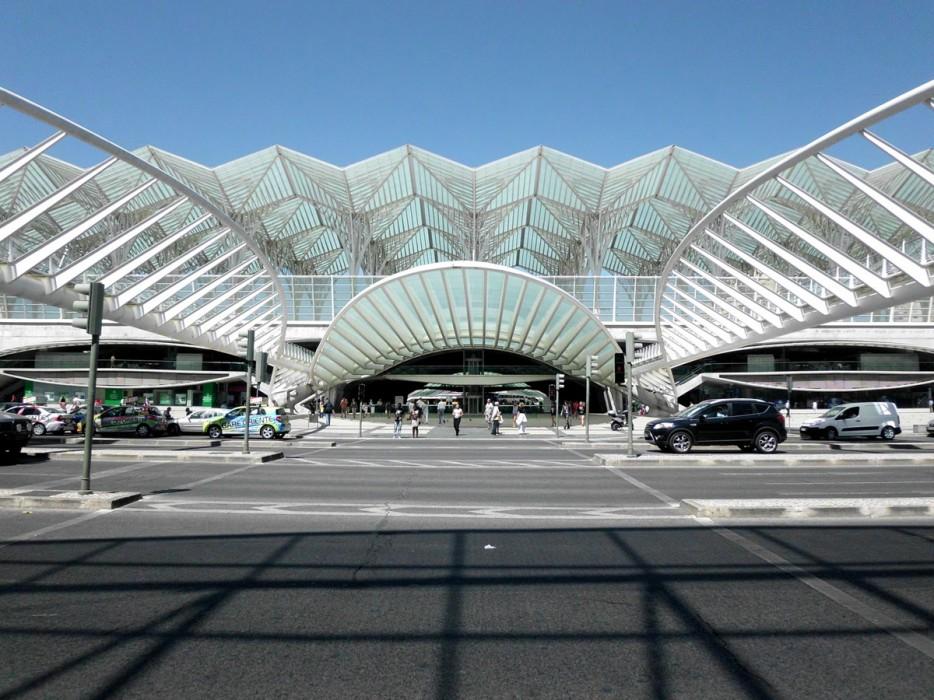葡萄牙(Portugal)裏斯本東站(Lisbon Oriente Station)