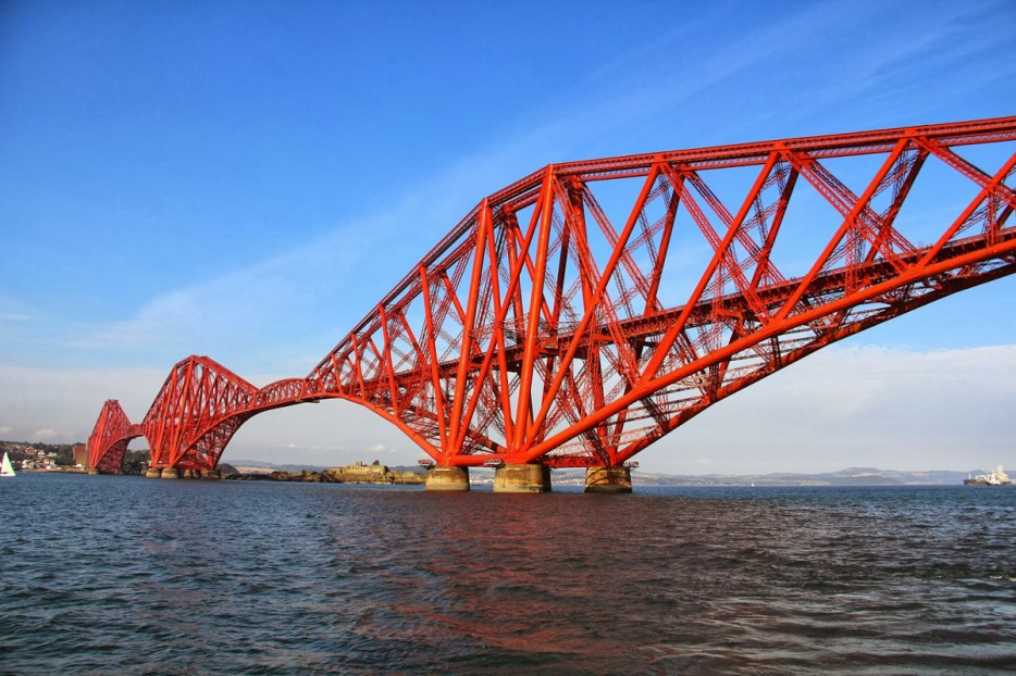 蘇格蘭(Scotland)福斯橋(The Forth Bridge)