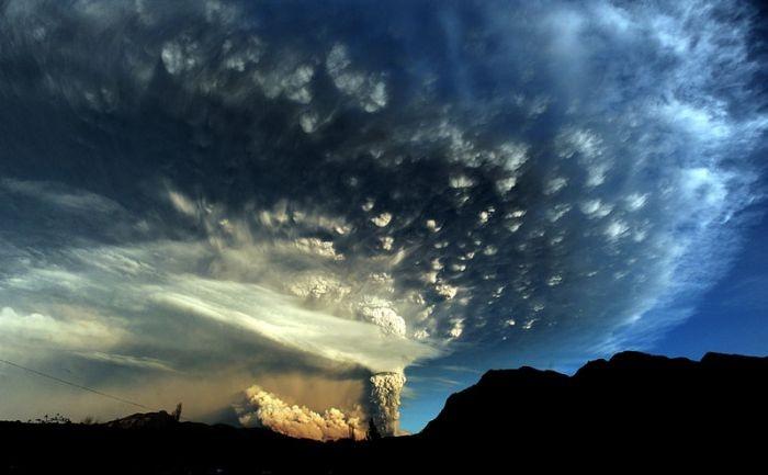 智利普耶韋火山(Puyehue Volcano, Chile)