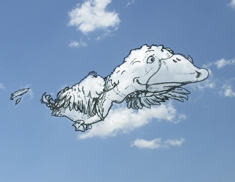 在你看過這些之後,你以後就會用不同的眼光看天空裡的雲了。
