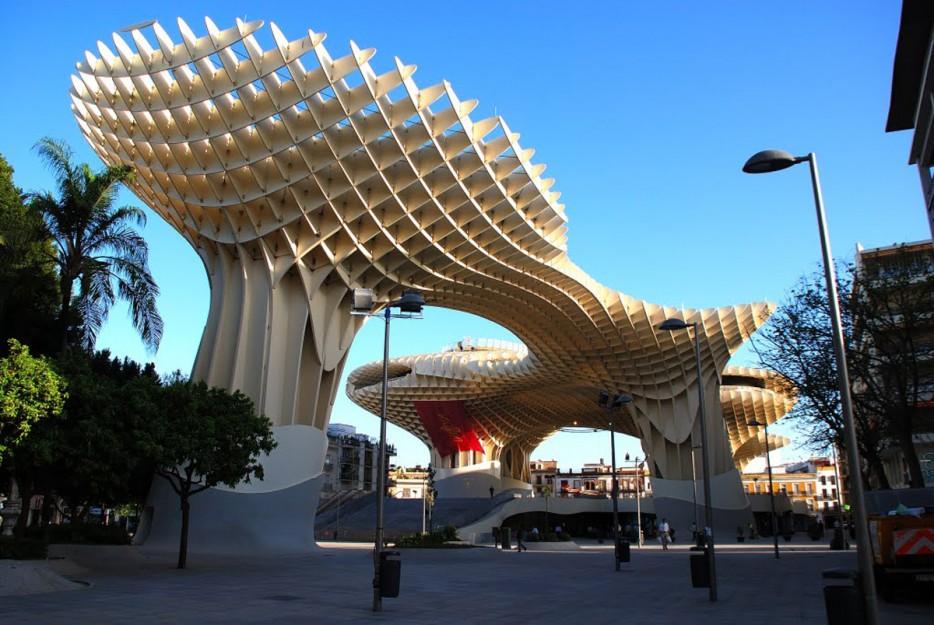 西班牙市民遮陽傘計畫(Metropol Parasol)