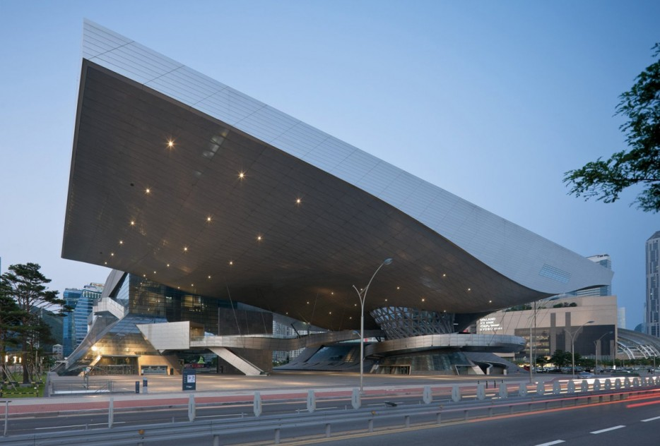 南韓釜山電影中心(Busan Cinema Center)