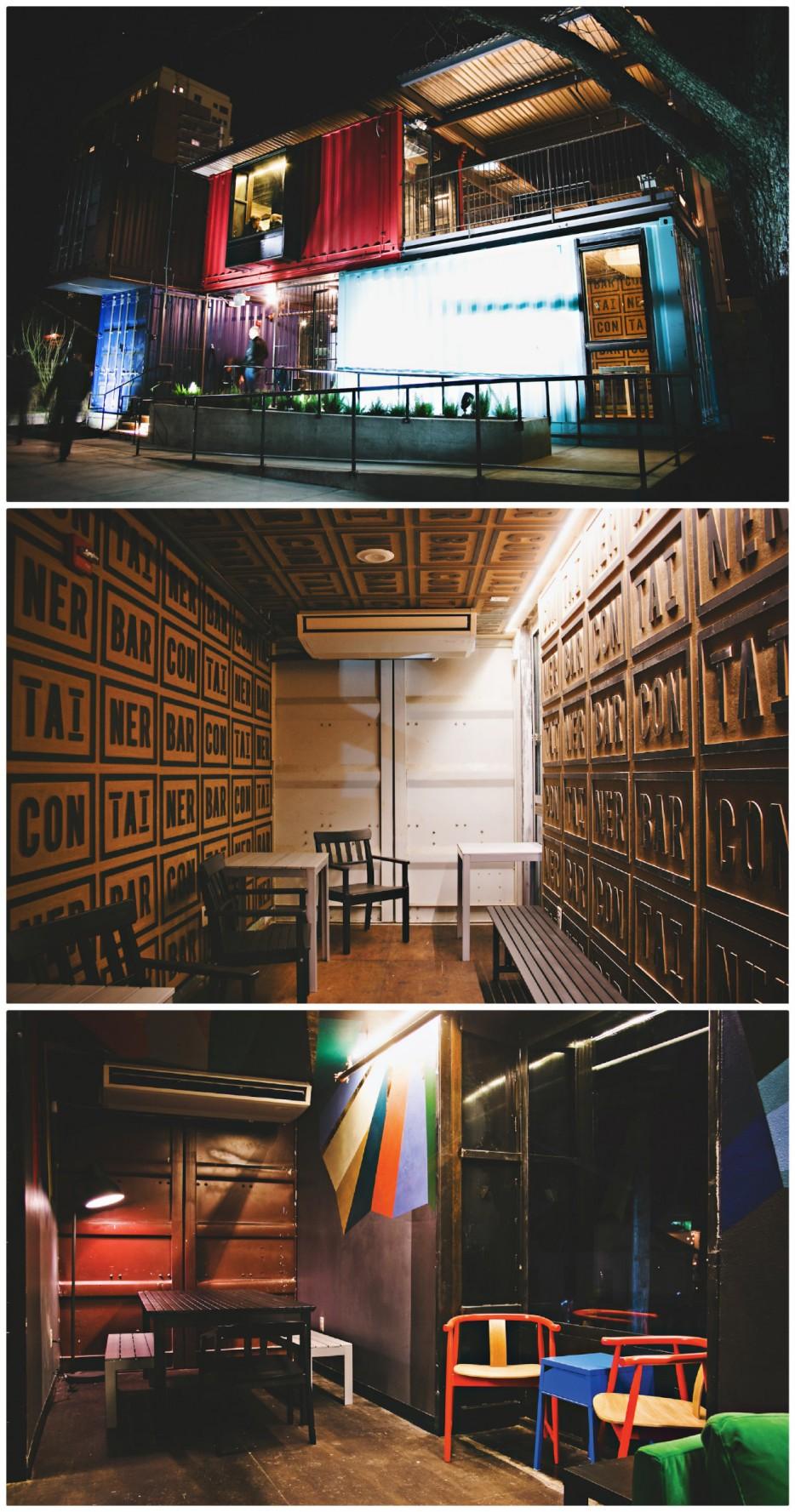 1. 貨櫃酒吧(Container Bar):美國奧斯丁(Austin)