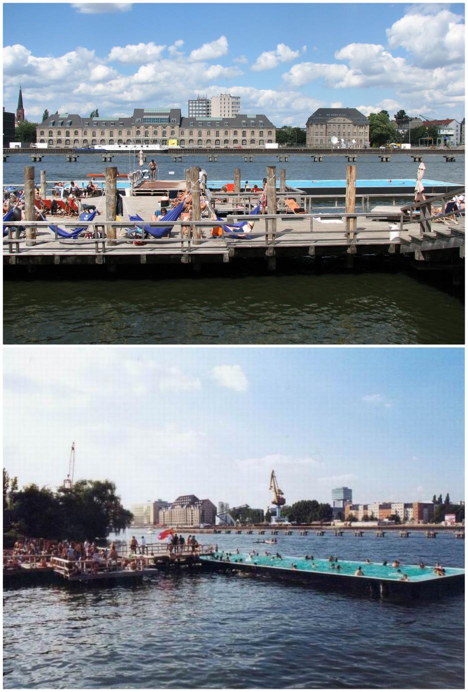 8. 漂浮的游泳池:德國柏林(Berlin)