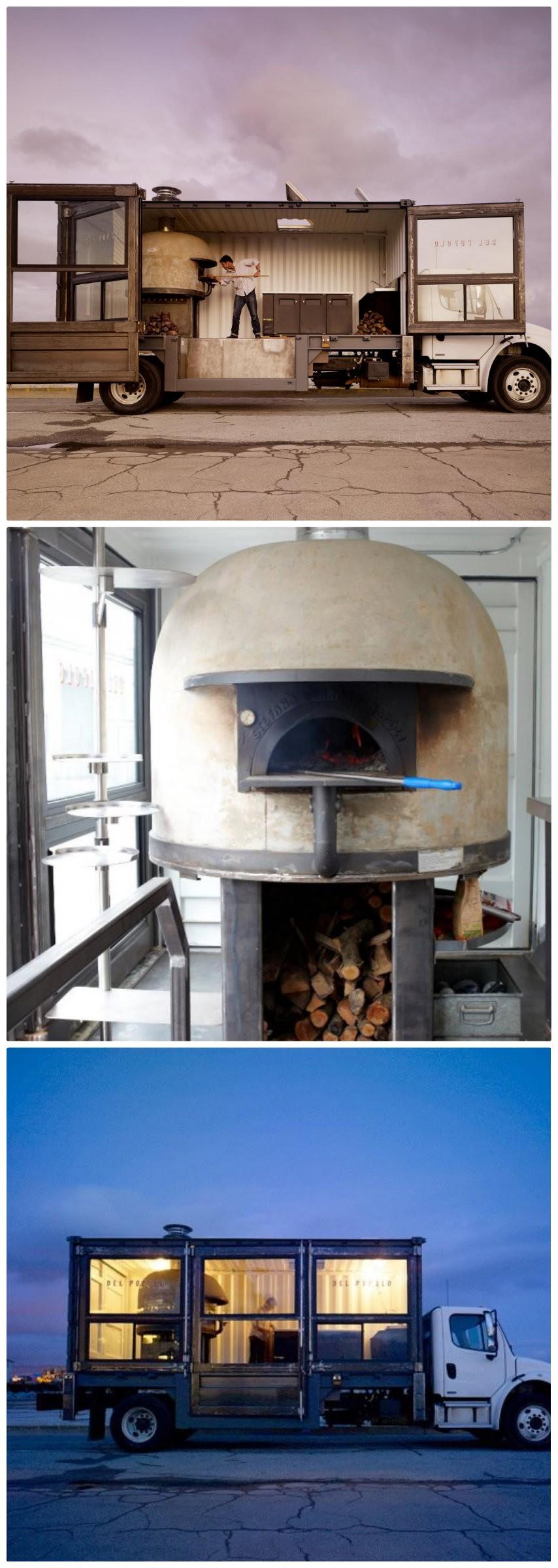 6. Del Popolo的披薩卡車:美國舊金山(San Francisco)