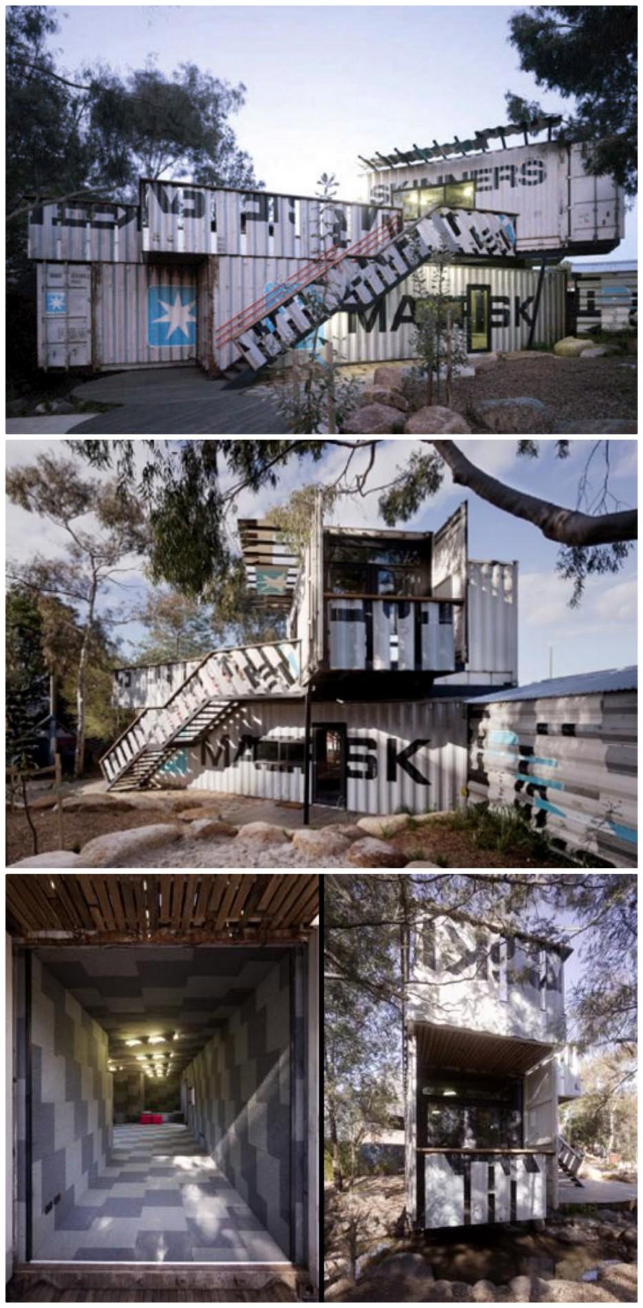 10. 斯金納兒童遊樂園(Skinners Playground)的活動中心:澳洲墨爾本(Melbourne)