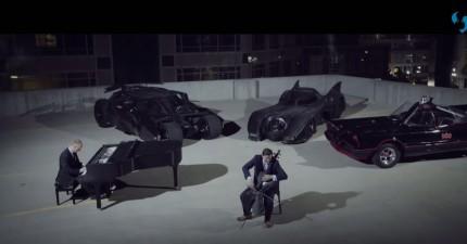 如果你很喜歡蝙蝠俠的話,你絕對不能錯過這對Youtube名音樂家彈奏的「蝙蝠俠進化曲」。
