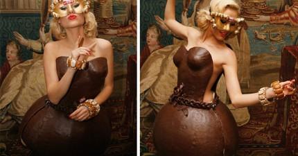 26個有史以來最「讓你咬不下去」的巧克力設計。