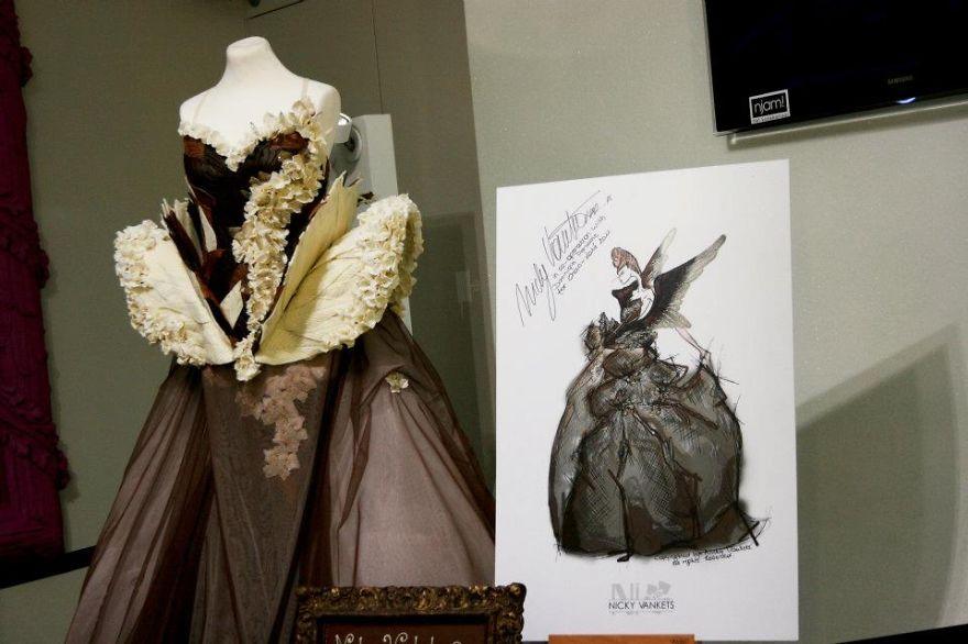 Chocolate Dress. Antwerpen 2011.