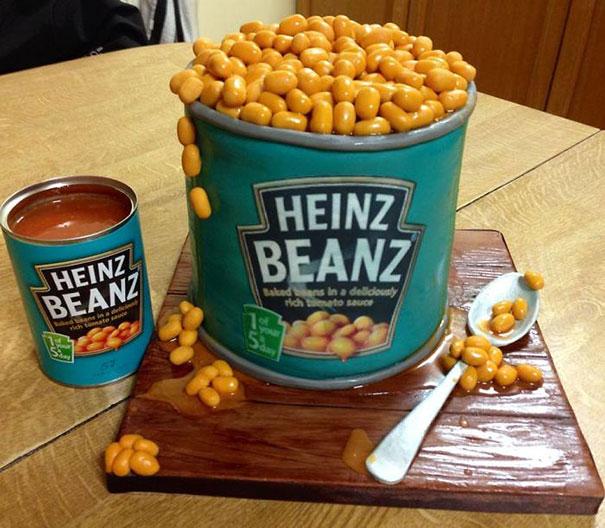 Heinz Beanz Cake