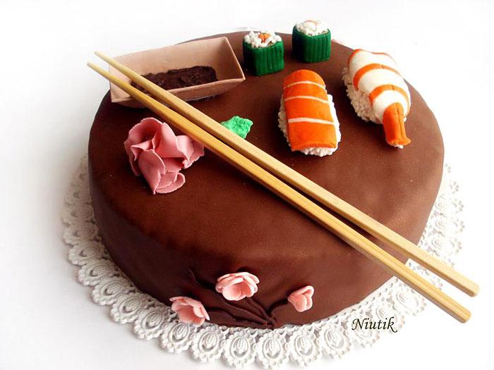 19. 壽司蛋糕