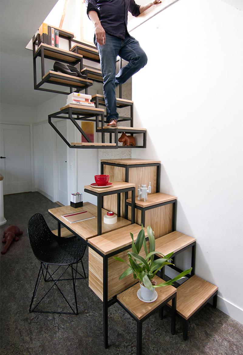 樓梯,就是你的置物櫃!