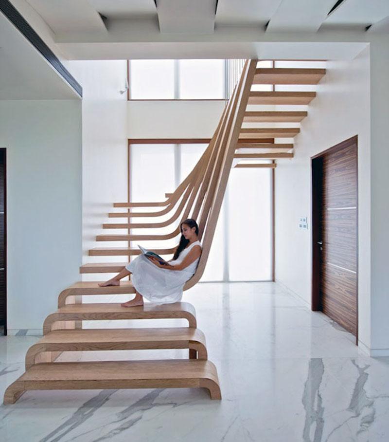 舒服的時尚樓梯