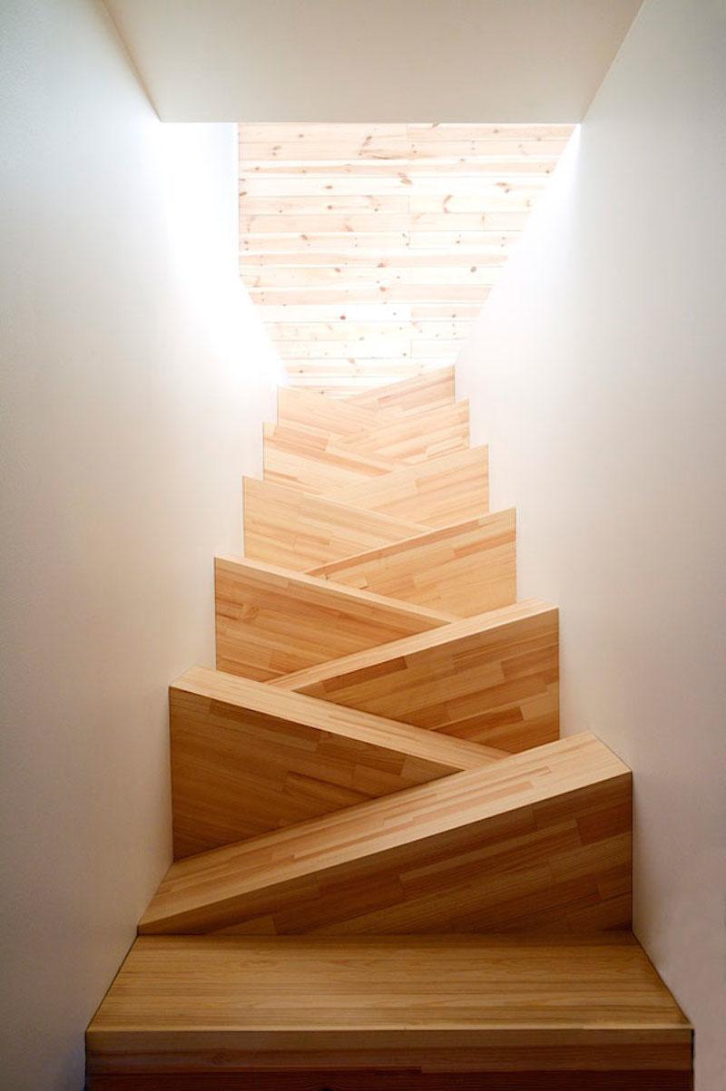 22個一點都不樓梯的樓梯。有型到讓你爬樓梯再也不喊累!