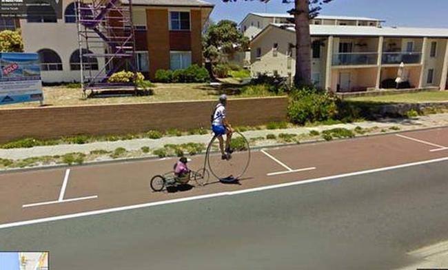 當我在用Google街景地圖的時候...天啊!怎麼會有這些畫面?