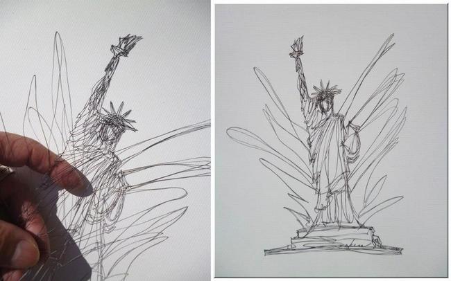 他花了30年的人生不斷鑽研,終於達到了這樣的紙雕境界。