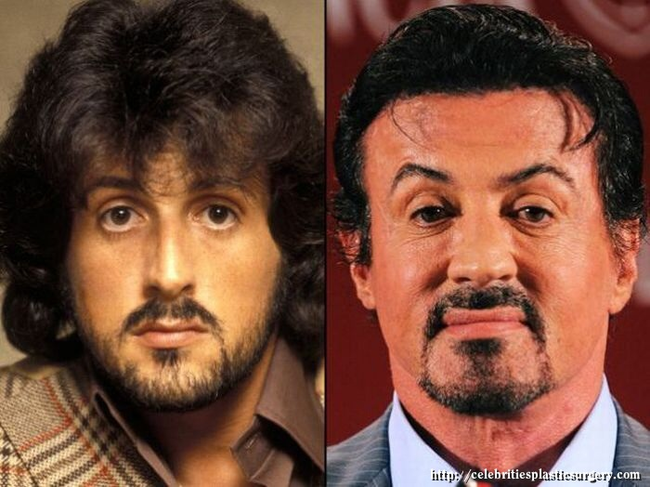 """1.) Sylvester """"Rocky"""" Stallone is still the Italian Stallion."""