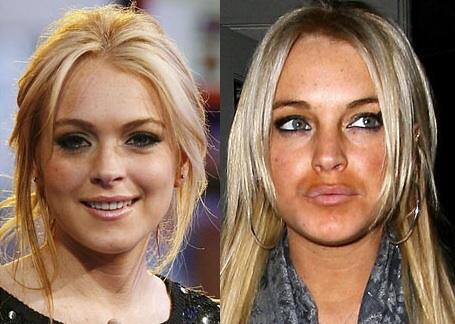 7. 已经崩坏很久的琳赛·萝涵(Lindsay  Lohan)...