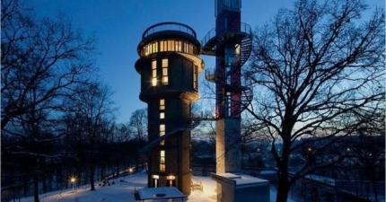 你發現到這些水塔裡面有什麼的時候,你會超愛的!