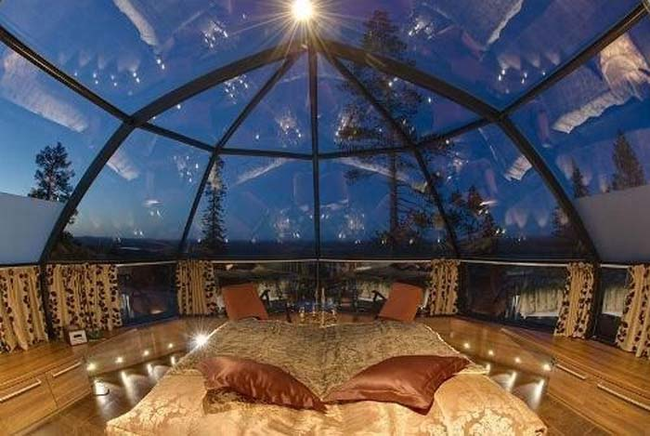 25. 在星空下睡覺,還沒有蟲蟲的干擾。